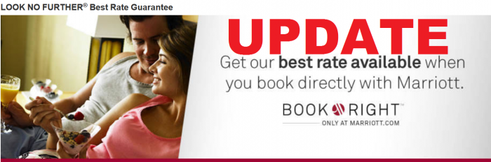 Marriott Rewards Look No Further Best Rate Guarantee UPDATE