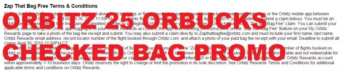Orbitz Zap That Bag Fee