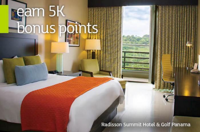 Radisson 5000 Bonus Points Per Night April 17 June 27 2015