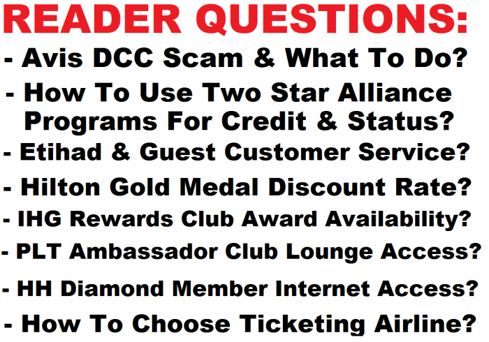 Reader Questions March 21