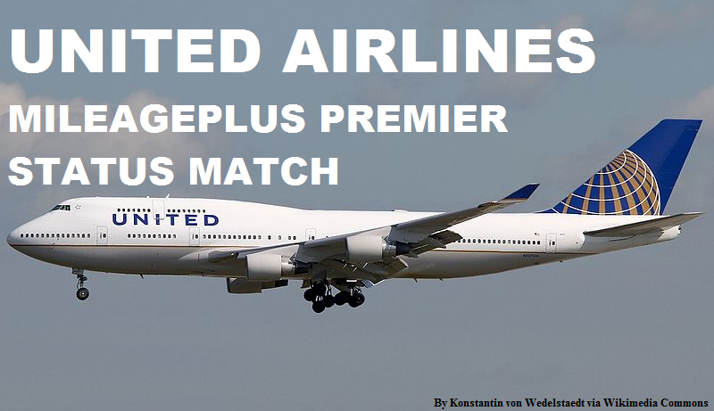 United Airlines Mileageplus Premier Status Match 2015