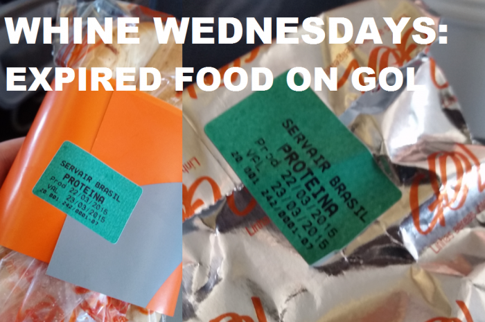 Whine Wednesdays Expired Food On Gol