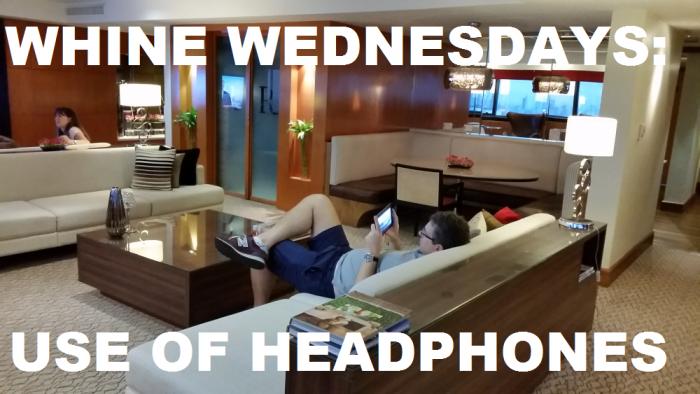 Whine Wednesdays Headphones