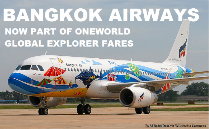 Bangkok Airways Oneworld Explorer