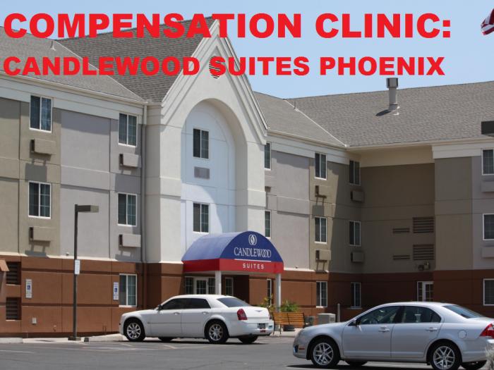 Compensation Clinic Candlewood Suites Phoenix