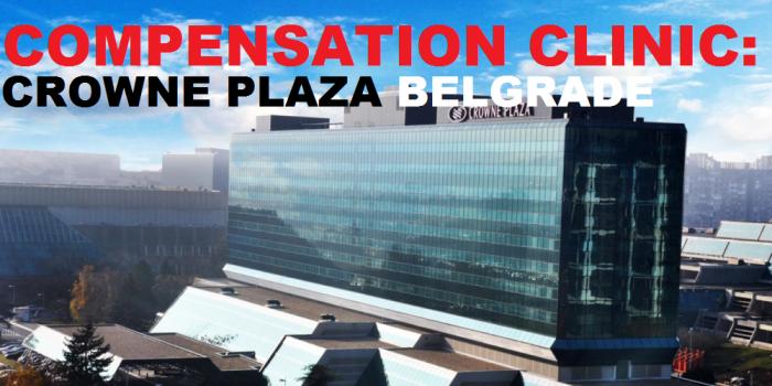 Compensation Clinic Crowne Plaza Belgrade U