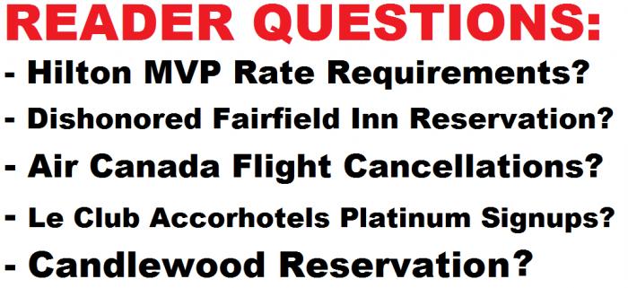 READER QUESTIONS April 19 2015