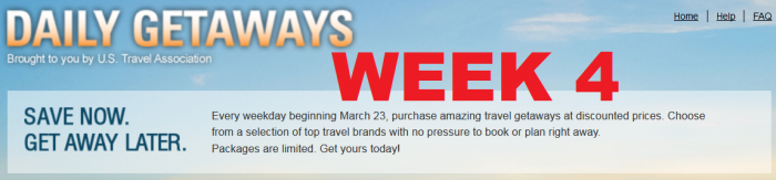 U.S. Travel Association Daily Getaways Week 4