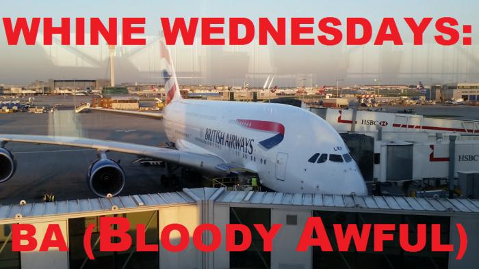 Whine Wednesdays British Airways Club World (Bloody Awful) A380