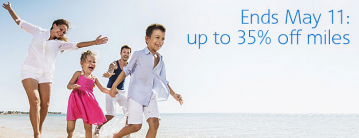 American Airlines Buy AAdvantage Miles May 2015 Campaign