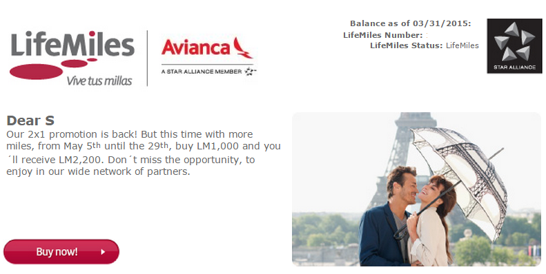 Avianca LifeMiles has a Thanksgiving week sale that's offering a % bonus when buying miles, reducing the cost of buying their miles to resultsmanual.gq are no bonus tiers with this promotion – you'll get a % bonus regardless of whether you buy 1, or , miles.