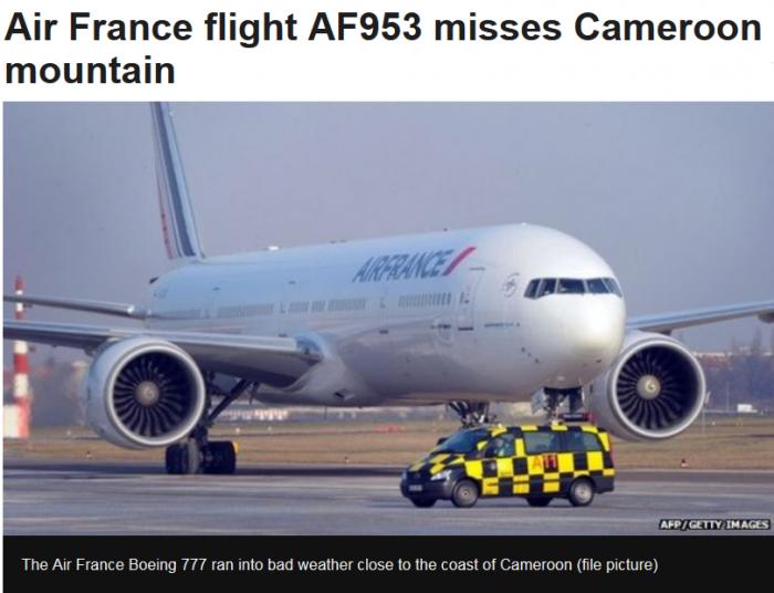 BBC Air France Mountain
