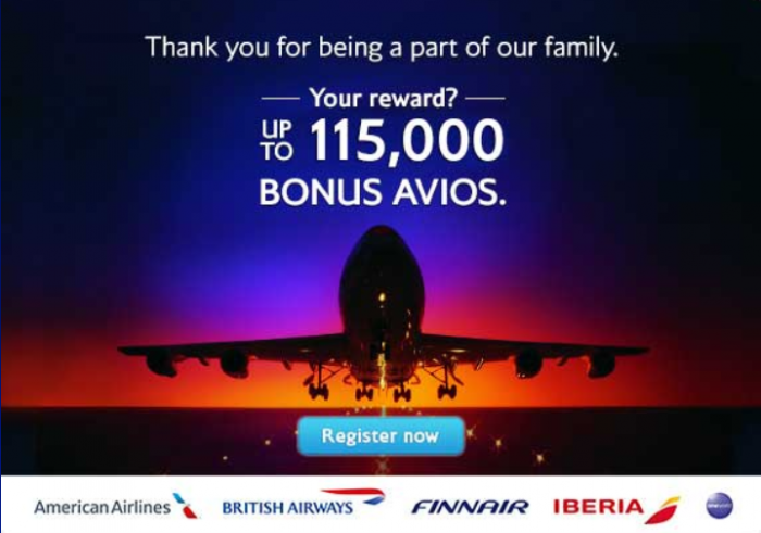 British Airways American Airlines Up To 115,000 Avios AAdvantage Miles Transatlantic Travel Summer 2015