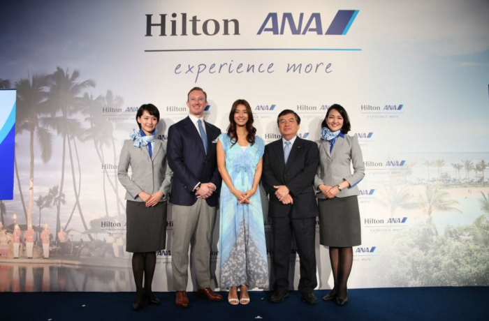 Hilton HHonors ANA Partnership