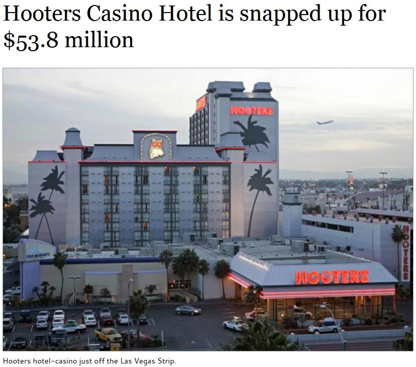 hooters hotel y casino las vegas