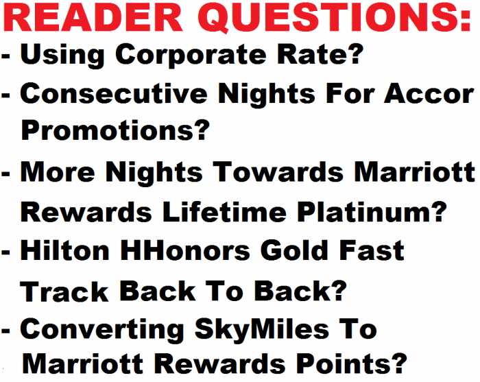 Reader Questions May 4