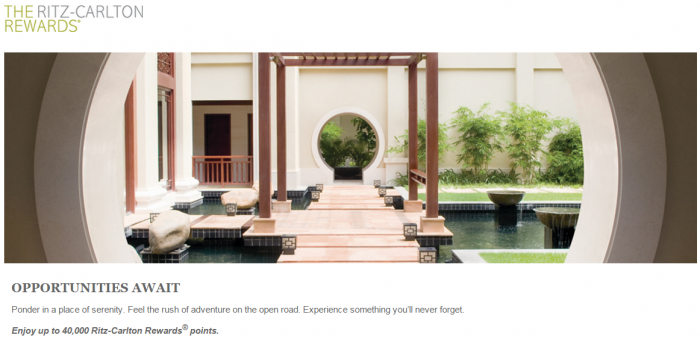 Ritz-Carlton Rewards Opportunities Await Summer 2015 Promotion June 1 August 31 2015