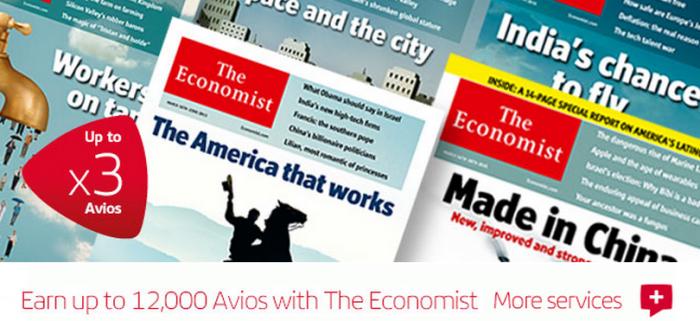 The Economist Iberia Plus 12,000 Miles