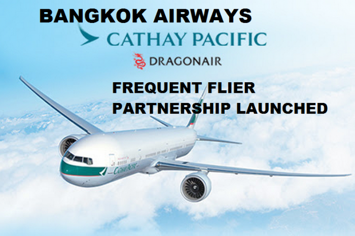 Bangkok Airways Cathay Pacific Frequent Flier Partnership Launch