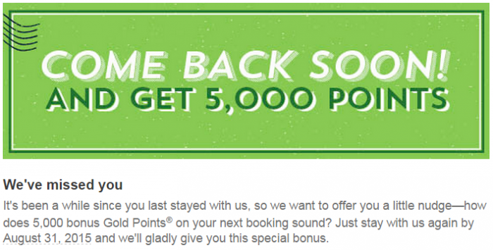Club Carlson 5,000 Bonus Points For A Stay By August 31 2015