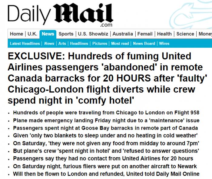 Daily Mail United YYR