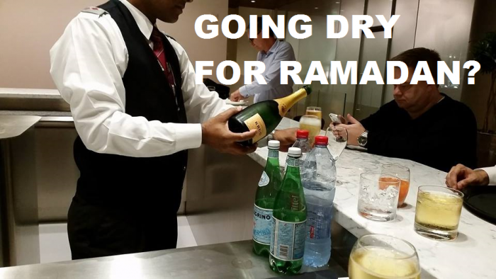Going Dry For Ramadan