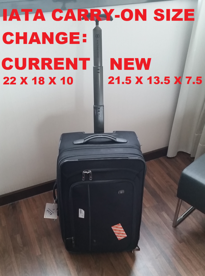 IATA Wants To Outlaw My Carry-on (More Ancillary Fee$ For The ...