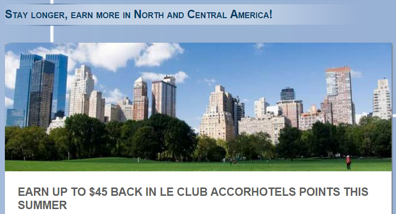 Le Club Accorhotels Up To 2 000 Bonus Points Per Stay Us