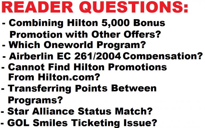 Reader Questions & Comments June 20 2015 U