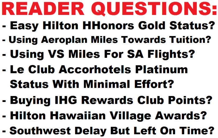 Reader Questions & Comments June 27 2015