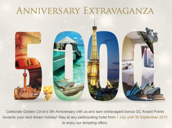 Shangri-La Golden Circle 5th Year Anniversary