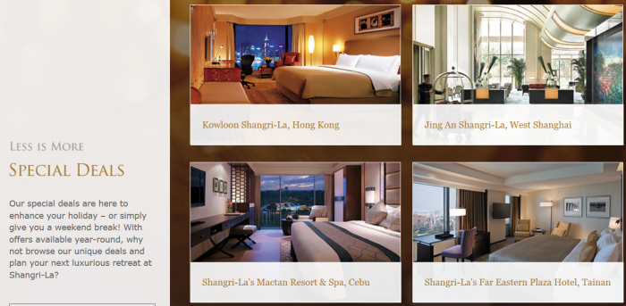 Shangri-La Golden Circle Hotel Specific Offers