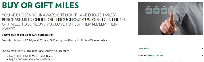 Alitalia MilleMiglia Buy Miles
