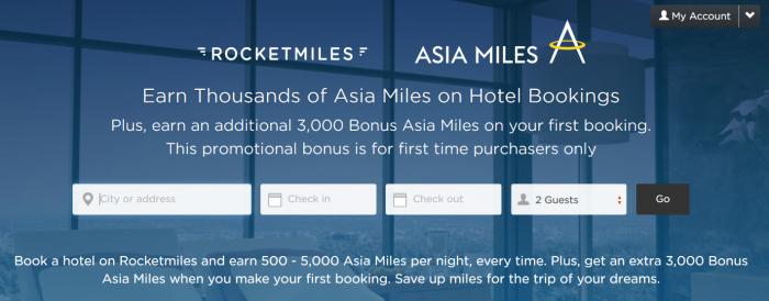 Cathay Pacific Rocketmiles 3,000 Bonus Miles July 31 2015