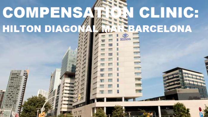 Compensation Clinic Hilton Diagonal Mar Barcelona