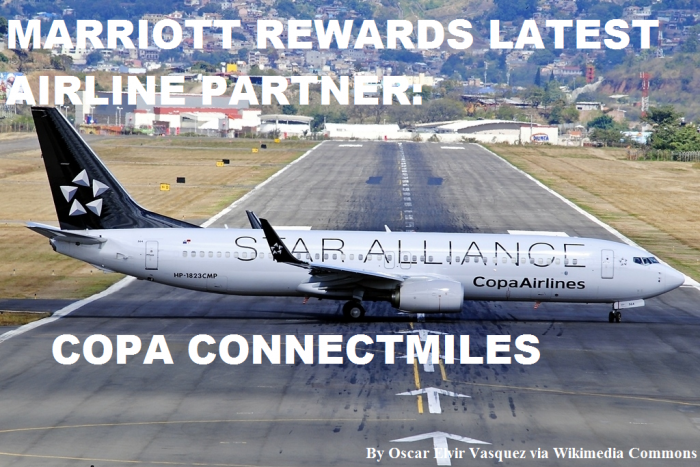 Marriott Rewards Copa Airlines ConnectMiles Plane