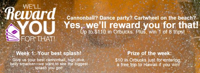 Orbitz Rewards Up To $110 Orbucks