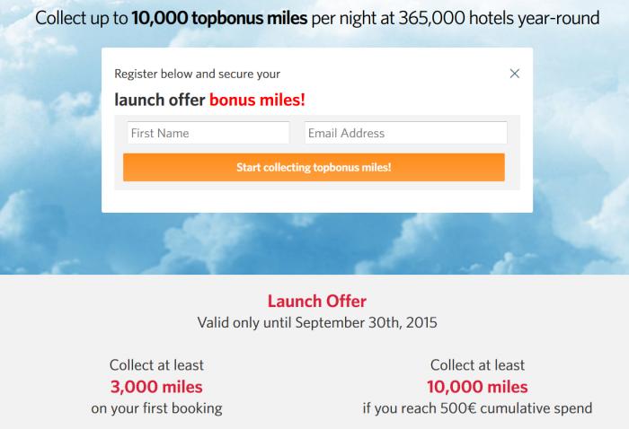 Kaligo Airberlin Topbonus Launch