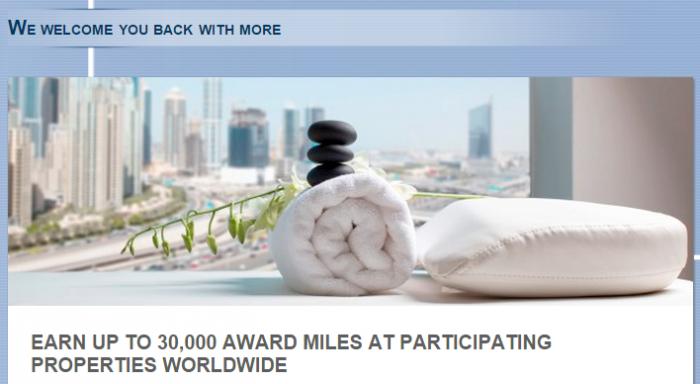 Le Club Accorhotels Air France-KLM Flying Blue Bonus Miles Offer August 28 - October 15 2015
