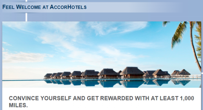Le Club Accorhotels Lufthansa Miles&More Offer