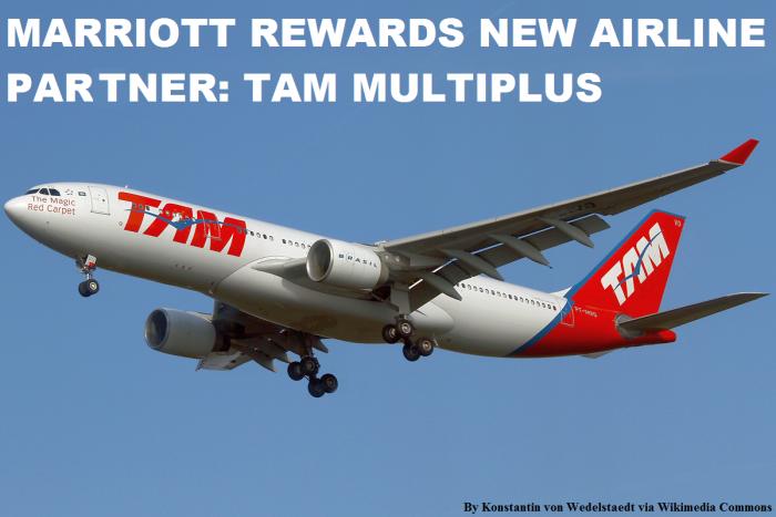 Marriott Rewards TAM Multiplus U