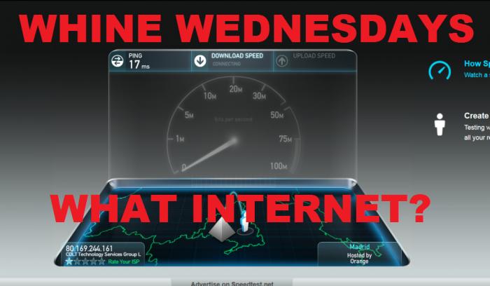 Whine Wednesdays Internet