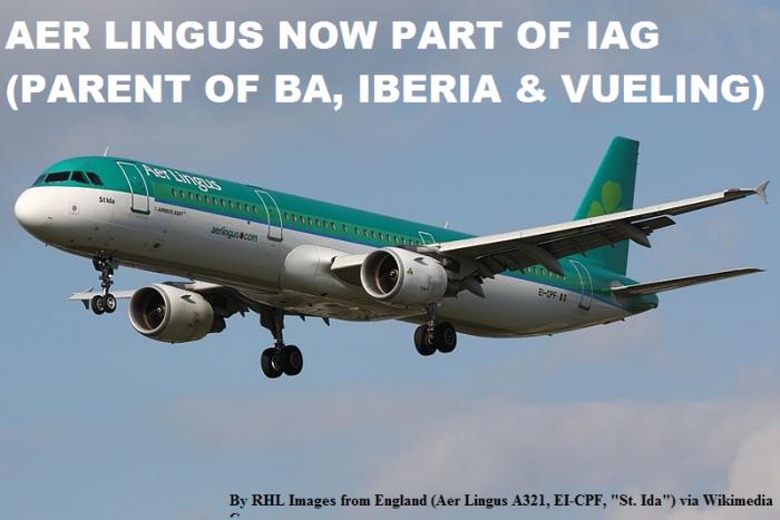 Aer Lingus Part Of IAG
