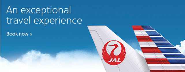American Airlines JAL Double Miles Offer September 9 December 15 2015