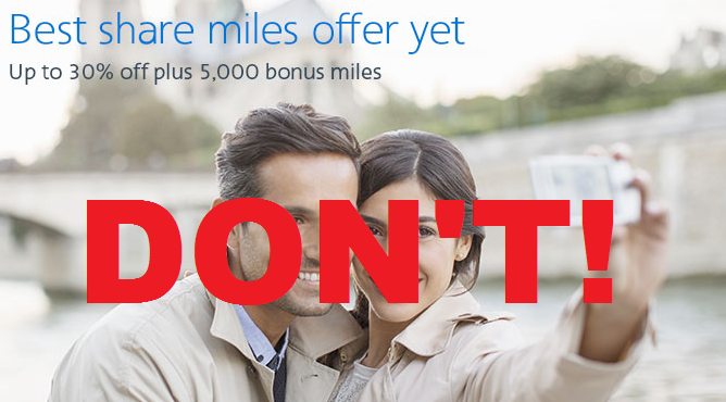 American Airlines ShareMiles Bonus September 2015
