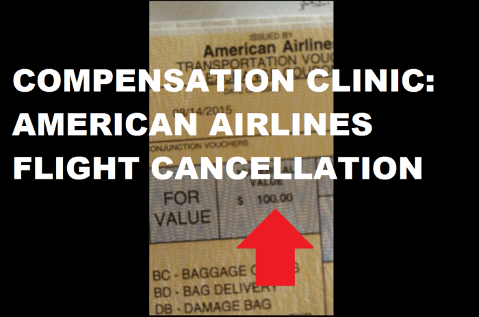 Compensation Clinic American Airlines