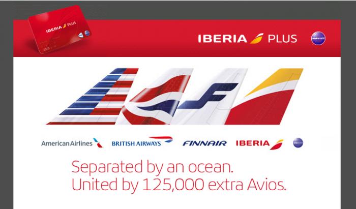 Iberia Plus Up To 125,000 Bonus Avios For Transatlantic Travel September 22 - January 31 2016
