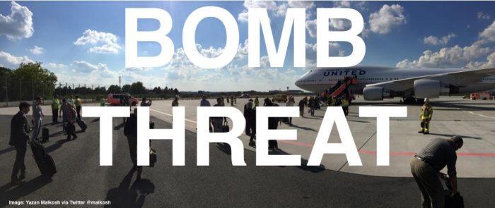 United Airlines Bomb Threat On 9 11 Frankfurt San