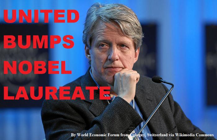United Bumps Nobel Laureate