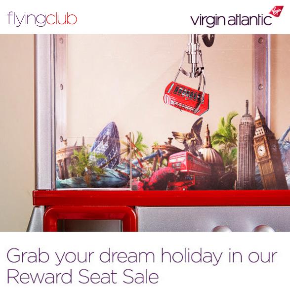 Virgin Atlantic Flying Club Fall 2015 Award Sale